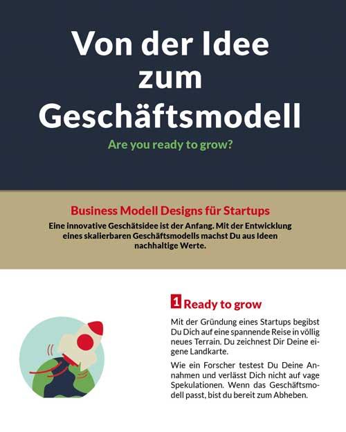 PDF zum Download Von der Idee zum Geschäftsmodell